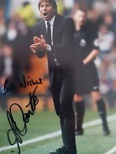 ANTONIO CONTE CHELSEA SIGNED 6 x 8 INCH PHOTO Buy Authentic soccer great