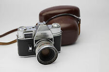 Kodak Retina Reflex III Compur W/ Retina Xenon 1.9/50mm Lens And Case