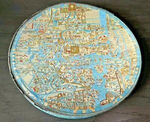 RARE Vintage Springbok Circular Puzzle Ebstorf Map British 1968 Read Description