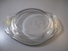 Pyrex 980-C Replacement Clear Glass Cover Lid Top Only Vintage Round Handles Lid