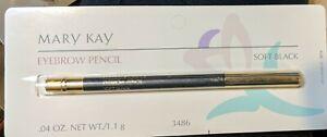 Mary Kay Eyebrow Pencil Soft Black - #3486 - .05oz. NOS