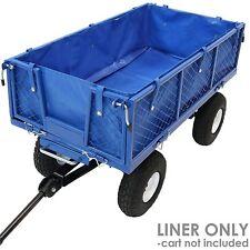Liner Cover Black for Heavy Duty Utility Folding Camp Beach Garden Wagon Cart Us