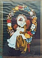 Lavender & Lace Cross Stitch Pattern Chart Lady of the Thread 1988