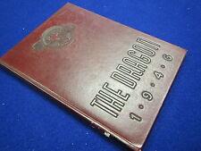 "1946 STATE TEACHERS COLLEGE YEARBOOK "" THE DRAGON "" Moorhead,  Minnesota"