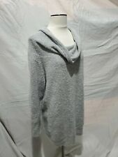 Motherhood Maternity Grey Long Sleeve Sweater Top Pullover Cowl Neck size XL