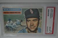 1956 Topps - #38 - Bob Kennedy - PSA 8 - NM-MT