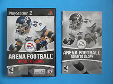 NO GAME- PS2 ARENA FOOTBALL ROAD TO GLORY  - CASE & MANUAL ONLY - NO GAME