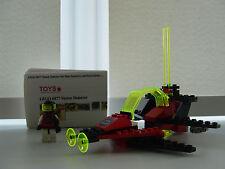 LEGO 6877 Vector Détecteur avec FIGURINE 100% complet