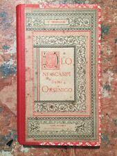 Vittorio Imbriani: Duio ne scampi dagli Orsenigo, Roma Sommaruga, 1883