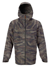BURTON Men's PACKRITE Gore-Tex Shell Snow Jacket - OliveGreenWornTiger - Large
