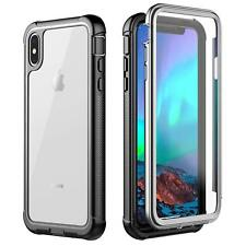 Temdan For iPhone XS Max/iPhone Max Case Built in Full Screen Protector 6.5 inch