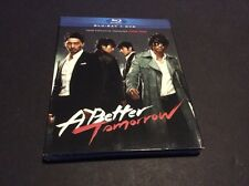 A Better Tomorrow (Blu-ray/DVD, Slipcover, 2011, 2-Disc Set)