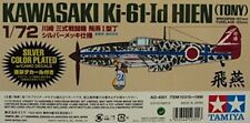 Kawasaki Ki-61-Id Hien (Tony) 1/72 Silver Plated with Camo Decals No.10315