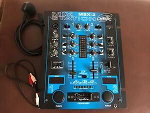 Citronic DJ Mixer MSX-2