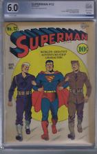 Superman #12 DC Pub 1941 WAR COVER!