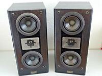 2x Pioneer Prologue S-55 Vintage Stereo Lautsprecher, Schwarz, 2 Jahre Garantie