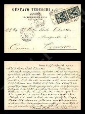 Verona - Gustavo Tedeschi e C. - 17.4.1903