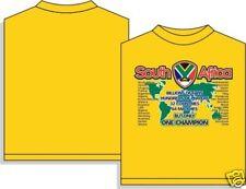 World Cup 2010 South Africa T-Shirt Sz AM