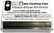 3 in 1 8mm Videocamera HEAD CLEANER cura prevenire NASTRO VIDEO HI Digital 8 CASSETTA
