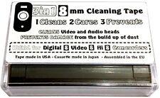 3in1 8mm Camcorder Head Cleaner Care Prevent Tape Video Hi Digital 8 Cassette