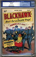Blackhawk #9  CGC 8.0  VF  Universal CGC #0056407003