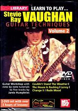 Lick Library - Learn To Play Stevie Ray Vaughan V.2