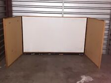 New listing Very Large 8' Commecial White Board With Cabinet