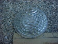 WESTERN RAILROAD SUPPLY CO CLEAR GLASS LENS 30 DEGREE SPREAD