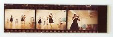 Montreal art student performance art 1970's. woman drinking  Vintage color photo