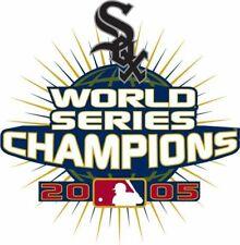 Nike Golf Dri-Fit 2005 Chicago White Sox World Series Champions Mens Polo New