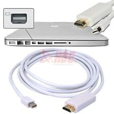 10FT Thunderbolt Mini DisplayPort to HDMI Cable Adapter for Macbook Pro Air Mac