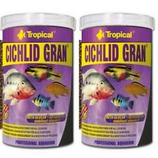 2 x Tropical Cichlid Gran Granulato 1000 ML Barschfutter (13,45 €/ 1000 ML)