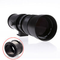 420-800mm F/8.3-16 Telephoto Zoom Lens T For Sony NEX E A7 A7R A7II A6000 A6300