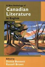 A New Anthology of Canadian Literature in English (2002, UK-Paperback)