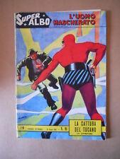 Super Albo L'UOMO MASCHERATO n°91 1964 ed. Spada  [G285] Ottimo