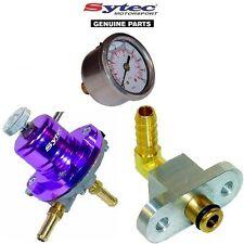 Carburante Sytec regolatore di pressione KIT + INDICATORE CARBURANTE SUBARU IMPREZA TURBO (92-00)