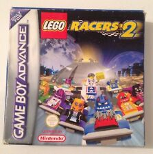 Vintage 2001 LEGO RACERS 2 Nintendo GameBoy Advance Complete Game GBA SP DS Lite