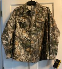 NWT Womens Cabelas Zonz Colorphase Camo Button Up Long Sleeve Hunting Shirt