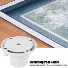 Pool-Düse Einlaufdüse Einströmdüse Pooldüse Kugeldüse 360°schwenkbar Weiß Neu