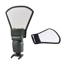 Camera Flash Diffuser Softbox Silver White Reflector for Canon Nikon Sony Nissin