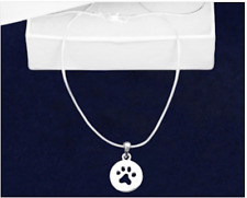 Sterling Silver-Plated Paw Print Cut Out Earrings 100/% of SALE BENEFITS RESCUE