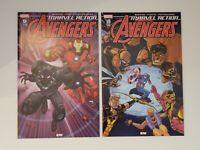Marvel Action Avengers #9 + #10 (NM or 9.4) - 1st App Yellow Hulk - 1st Prints!
