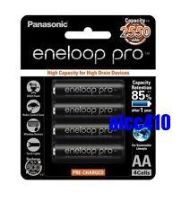 Panasonic Eneloop Pro 2550mAh AA Precharge NiMH Rechargeable Battery Sanyo XX