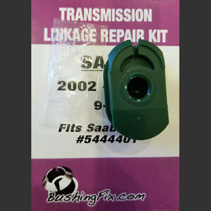Saab 9 5 Automatic Transmission Shifter Cable Repair Kit w/ bushing Easy Install