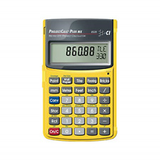 Calculated Industries 8528 ProjectCalc Plus MX Metric Project Calculator, Yellow