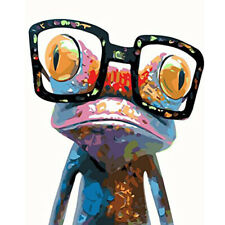 New Listing5D Diamond Painting Glasses Frog Embroidery Cross Stitch Kits Art Home Decor Diy