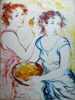 Roberta Correnti - Olio su tela, opera originale firmata del 2010