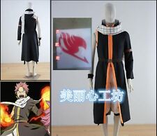 Fairy Tail Natsu Dragneel Cosplay Costume 3rd version
