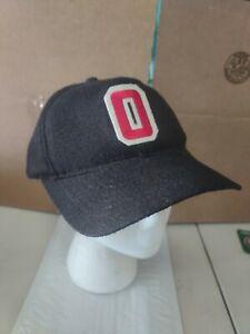 Ohio State OSU Vintage Woody Hayes Style Block O Hat Snapback University Square
