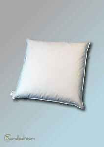 65x65 CM High Quality Pillows New Goose Feathers Feather Pillow 1200g Cream